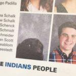 ¿Por qué un perro aparece en el anuario de un instituto?